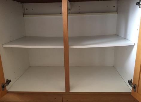Droopy Shelf